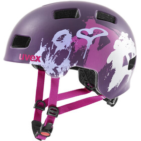 UVEX hlmt 4 CC Helm Kinder purple matt